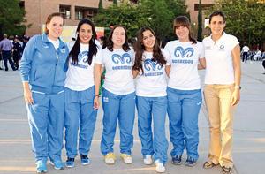 28022017 Mariana, Paola, Valeria, Cristina, Kate y Graciela.