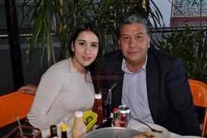 Alejandra y Alberto Bustamante.