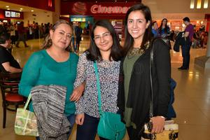 Sandra, Pamela y Ana Luisa.