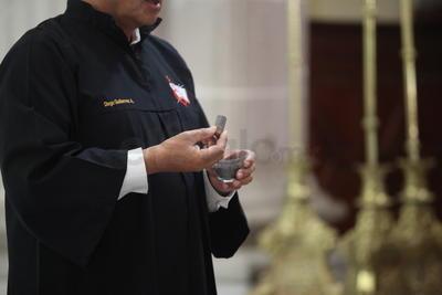 Como cada año, el miércoles de ceniza motivó a católicos duranguenses a visitar los templos de la ciudad.