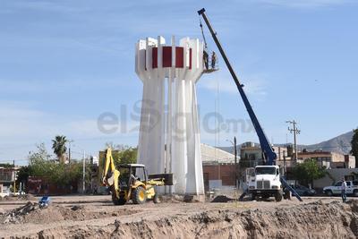 El monumento al Torreón es uno de los emblemas de la ciudad.