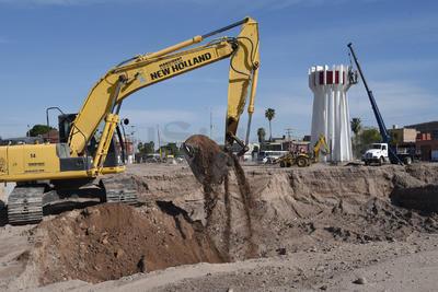 Inició el desmantelamiento del emblemático monumento Torreón.