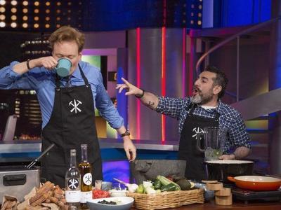 El chef Aquiles Chávez también estuvo presente en la emisión del programa como uno de sus invitados.