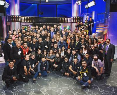 """El programa titulado """"Conan without borders: Made in Mexico"""" (Conan sin fronteras: Hecho en México), fue transmitido por la cadena Televisa, show en el que el comediante agradeció en redes sociales a todo su equipo por su apoyo."""