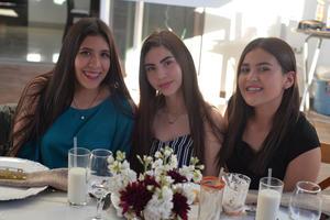 Daniela, Diana y Angélica