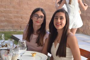 Marifer y Ximena