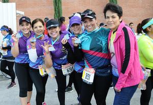 Alma, Lily, Ruth, Adriana, Pily y Laura