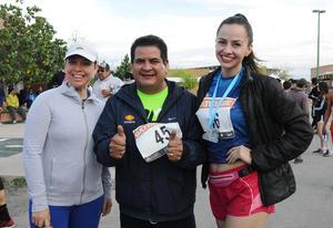 Liliana Delgado, Luis Amatón y Ángela del Río