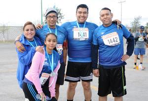 Rocío, Karla, Bruno, Chuy y Raúl