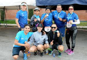 Sandy, Jessy, Fernando, Lety, Abby, Luis, Horacio y Ramón