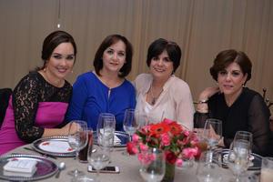 Anais, Coco, Elsa y Ana Rosa