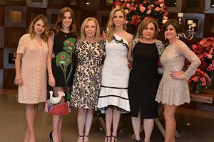 Aracely, Luisa, Aracely, Ana Tere, Sofía y Ana Sofía