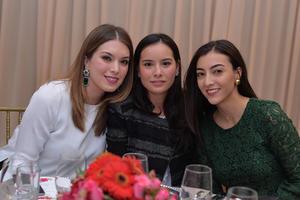 Lila, Mónica y Maribel