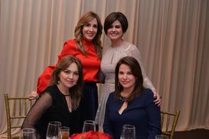 Olga, Ana Sofía, Mónica y Gaby