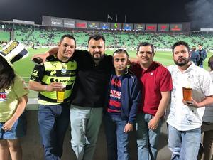 06032017 EN EL FUT.  Armando Arredondo, Pablo Talamantes, Christian y Héctor Giacomán y Alonso Ramírez.