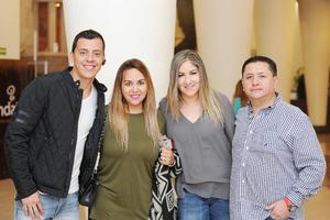 07032017 Mauricio, Gaby, Jaz y Rodolfo.