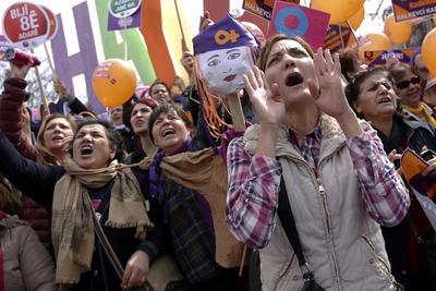 Mujeres de al menos 50 países salieron a las calles este 8 de marzo para conmemorar su día internacional.