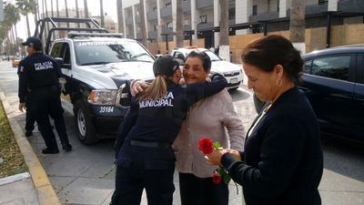 Fue un momento extraordinario en el que las fuerzas de seguridad de Torreón realizaron dichos actos.