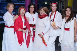 09032017 Mary, Mónica, Lily, Alma, Gloria y Vicky.