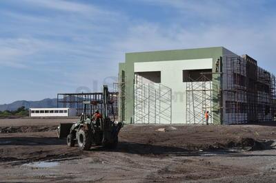 En el ejido La Rosita de San Pedro, se construye el cuartel militar.