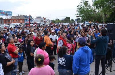 Durante el evento se presentaron algunos oradores, quienes hablaron de la historia del Torreón.