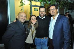 10032017 Luis, Rosy, Fernando y Ricardo.
