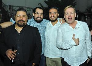 10032017 Guido, Servando, Alejandro y Salvador.