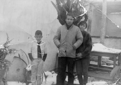 12032017 Gerardo Castellanos, Javier Castellanos y Josefina Martínez en enero de 1967.