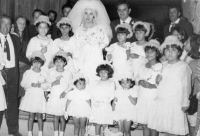 12032017 Hermila Martínez (f) y Genovevo Lira (f) contrajeron matrimonio el 2 de enero de 1968 en la Iglesia de Nuestra Señora de la Soledad en Torreón, Coahuila.