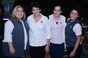 13032017 María Luz, Ruth, Meche y Sofía.