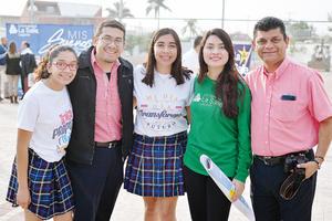 13032017 Sara, Gerardo, Caro, Frida y Fernando.