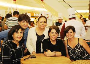 12032017 Soledad, Kena, Sofía, Ana Rosa y Ana Sofía.