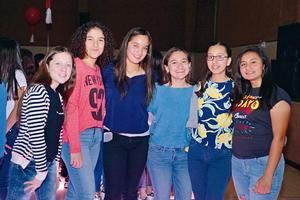 13032017 AMIGAS.  Carolina, Mariana, Fernanda, Daniela, Amanda y Estefy.