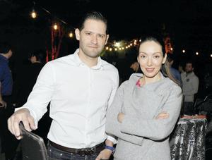 13032017 Gustavo Huerta y Leticia Robles.