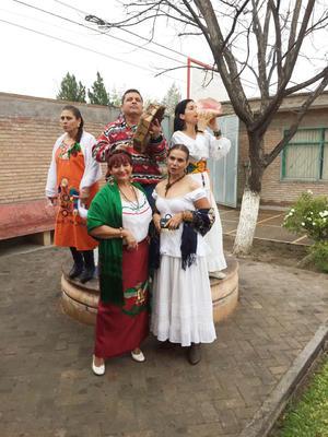 12032017 Martha Robles, Carmen Luna, Leticia, Alfonso Orona e Ivonne Orrantia.