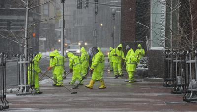 Boston también se vio afectado.