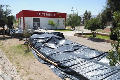 El Torreón fue reubicado al interior de la Unidad Deportiva Torreón.