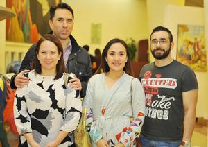15032017 Elena, Neto, Ale y Omar.