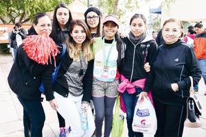 15032017 MUY CONTENTAS.  Karina, Karla, Karen, Karime, Diana, Graciela y Paty.