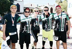 15032017 GUERREROS.  Checo, Jaime, Laura, Héctor y Michel.