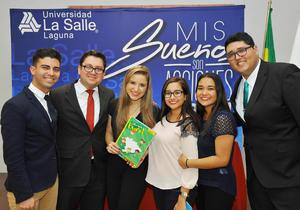 15032017 Ricardo Hernández, Mario Aguilera, Franciele DaSilva, Cristina Limón, Isabel Limón y Francisco Saucedo.