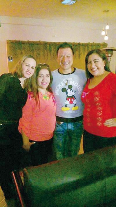 16032017 Sofía, Ale, Gerardo y Claudia.