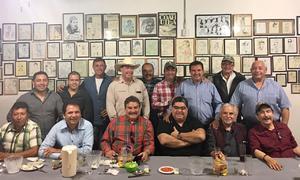 16032017 AMENA REUNIÓN.  Los Amigos del Ventarrón de San Pedro de las Colonias, Coahuila.