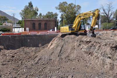 Las obras de la terminal, que se ubicará a la entrada de Torreón en Constitución y Múzquiz, continúan.