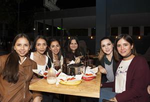 17032017 Yadira, Dulce, Alejandra, Karime, Ely y María Eugenia.