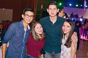 17032017 Fabián, Diego, Paula y Ángela.