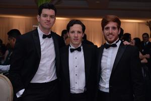 Raúl, Jorge y Richard
