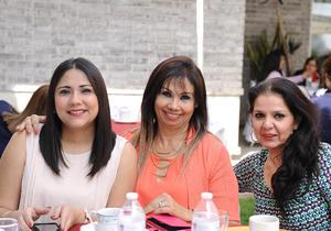 Ana Laura, Ana María y Paty