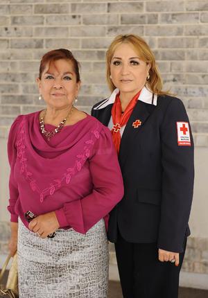 Juana María Castañeda y Tere Hinojosa
