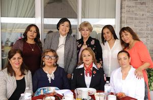 Patricia, Yolanda, Rosaura, Magaly, Gaby, Anel, Luly, Alma y Marissa